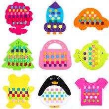 Своими руками Дети Высокое качество нетканые клип детские игрушки для изучения DIY фетровая ткань ремесла детский сад Раннее Обучение