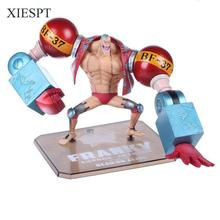 XIESPT Anime One Piece PVC Action Figure Toys Doll Franky Figurine Model Collection Free Shipping