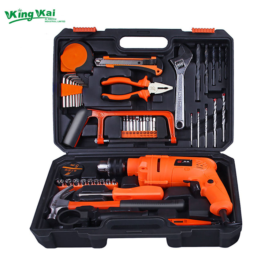 49 125 Piece Multifunctional Hand Tool Sets Hardware Tools With Electric DrillHack Saw