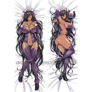 Anime JK Galgame Kuroinu Olga Discordia Queen Girl Maia Dakimakura Cosplay Body Pillowcase Hug Pillow Cover Case