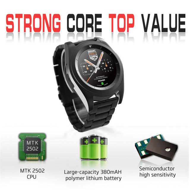 Moda Rwatch G6Smart Smartwatch Reloj Bluetooth con Pantalla LED Reproductor de Música de La Muñeca De La Salud Pulsera de la Frecuencia Cardíaca Para iOS Android