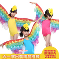 Free Shipping New 2015 Yellow Hot Pink Blue Girls Child Kids Fantasia Animal Tweety Carnival Bird Halloween Costume