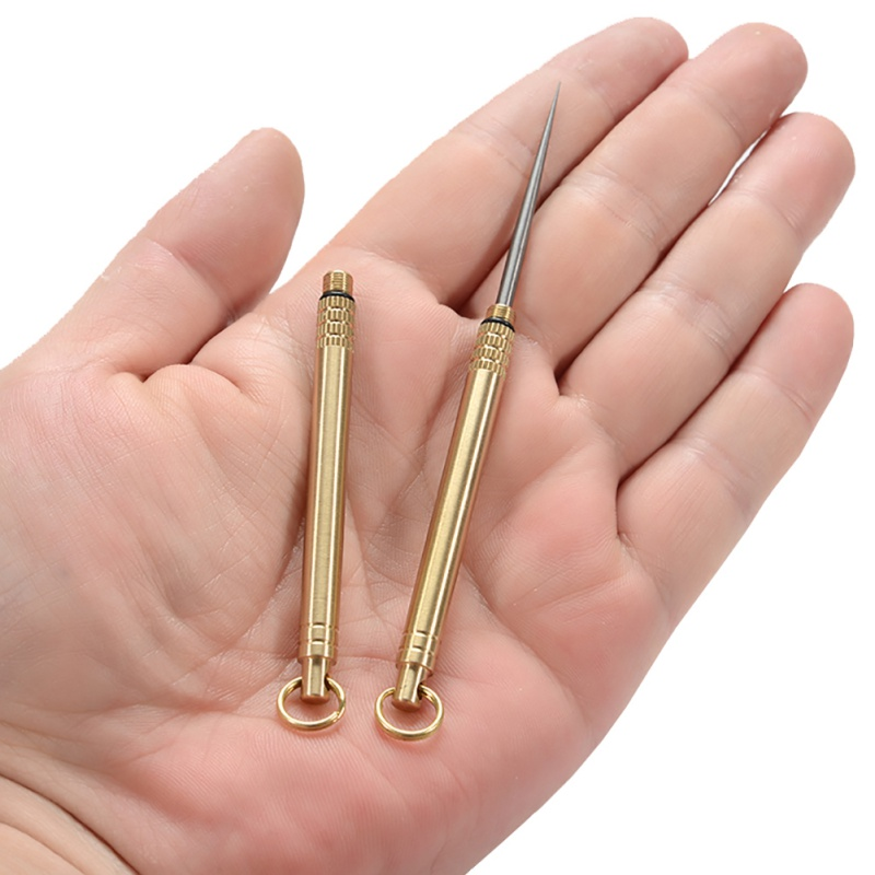 NEW Titanium Alloy Outdoor EDC Toothpick Bottle Fruit Fork Camping Equipment Traveling Tool Toothpick-holder Titanium Ear Spoon