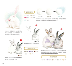 Image 2 - Chinese Color Pencil Drawing Meng cute pet Healing Journey Succulents Art Painting Book