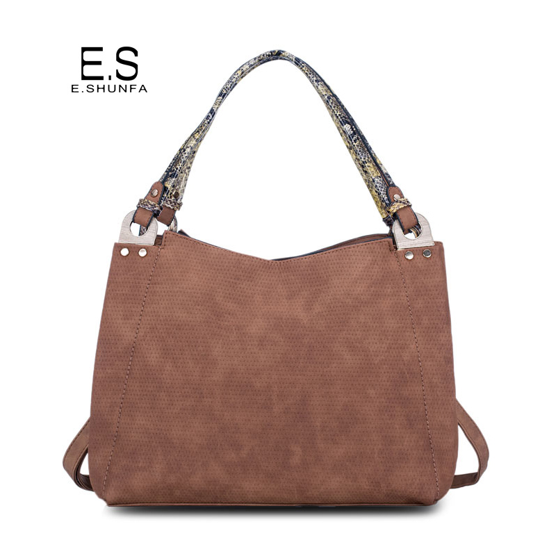 PU Leather Bags Women Handbags 2017 New Fashion Casual Tote Shoulder Bag Large Capacity Simple Single Shoulder Bags Womens wholesale blanks pu faux leather handbags casual tote bag large capacity square satchels bag dom1038113