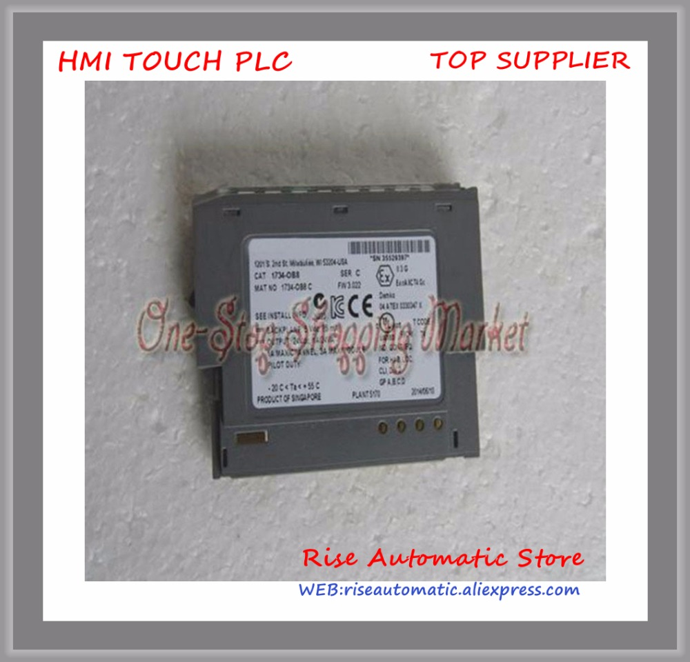 цена на Brand New Original 1734-OB8S 1734-OB8 PLC 24DC 8 current sourcing POINT Digital DC Output Modules