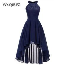 OML538 # Neck szyfon koronki wisiorek sukienka sukienka w stylu jaskółczy ogon