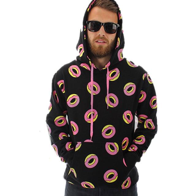 203318d41b9 boy london ofwgkta golf wang pocket hat sweatshirt Desigual Cute donut  hoodie Kawaii Unisex Hooded Hoodies vetement homme
