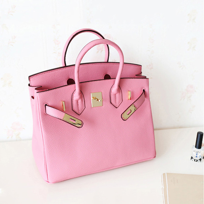 Luxury Brand Ladies Leather Shoulder Bag Fashion Genuine Leather Women Handbag Large Capacity Tote Crossbody Bag Bolsa Feminino sweet swan print spaghetti strap two piece swimsuit for women