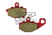 Brake Pads Ceramic For KAWASAKI KLE 650 Versys 2007-2013 Rear OEM New ZPMOTO High Quality(China)