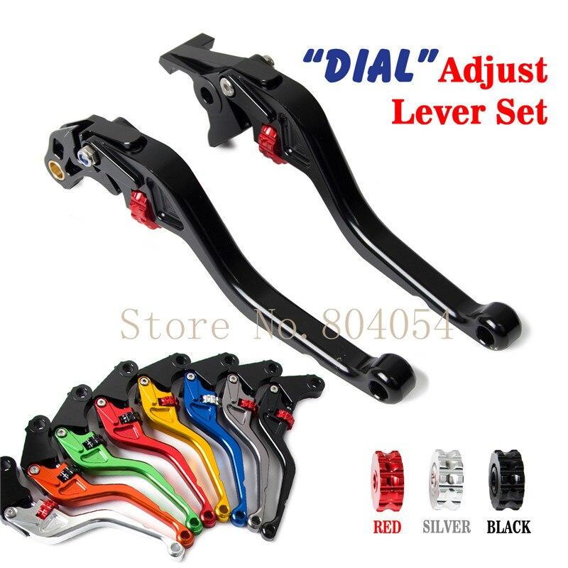 Roller Adjustable Brake Clutch Levers for Yamaha TDM 900/ABS 2005-2008 2009 2010  motorcycle cnc adjustable brake clutch levers for yamaha mt 03 2005 2009 tdm 900 abs 2004 2010 tdm 900 2012 2014