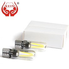 KEIN 2PCS Side Wedge Bulb T10 w5w 194 LED car auto Door Dome Interior Reading DRL Rear fog Lamp 6000K 12V Parking Vehicle Lights(China)