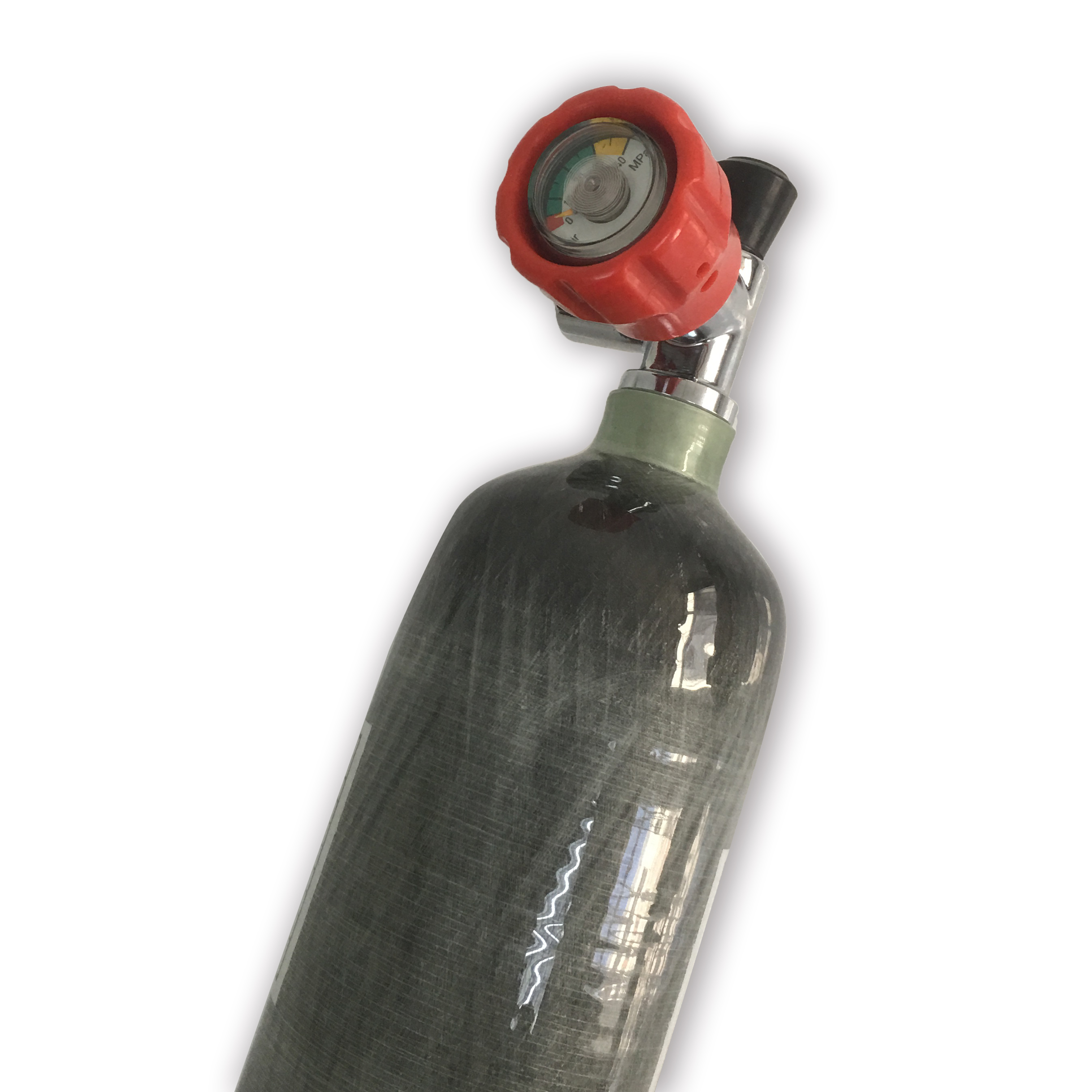 AC10211 2L CE Mini Scuba Diving Tank 4500Psi 30Mpa Paintball High Pressure Cylinder Pcp Airforce Condor Cylinder Pcp Valve in Fire Respirators from Security Protection