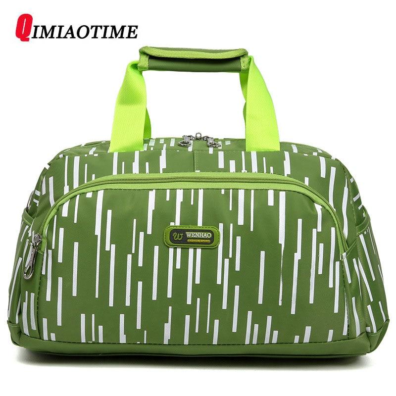 QIMIAOTIME2018 nouveau sac de voyage Portable de grande capacité sac de Collation de voyage sac de bagage étanche polyvalent sac à main