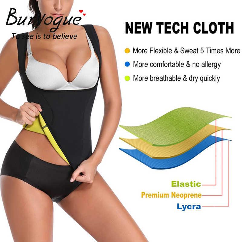 daa0eb690fb96 ... Burvogue Women Shapers Neoprene Body Shaper Slimming Waist Trainer  Corset for Weight Loss Sweat Sauna Hot ...