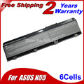 Аккумулятор для ноутбука Asus N45 N45E N45S N45F N45J N45J Mystic Edition N45JC N45SJ N45SN N45SF N45SV N55 N55E N55S