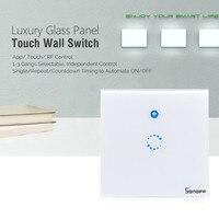 Sonoff T1 Wifi Light Switch Wireless Smart Home RF APP Touch Control Wall Light Switch UK