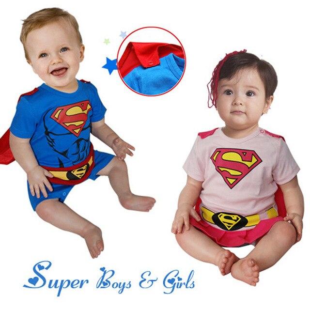 Auf Verkauf Baby Mädchen Superman Strampler mit Mantel Kinder ...