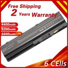 Bateria de célula de golololo 6, bateria de pilha para hp pilot g6 g7 g32 g42 g56 g62 g72 cq32 cq42 cq62 cq56 cq72 dm4 mu06 593553 001 593562 001