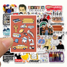 50pcs friends tv show fans gift decoration Sticker for DIY scrapbooking album Laptop Luggage Phone decal Sticker