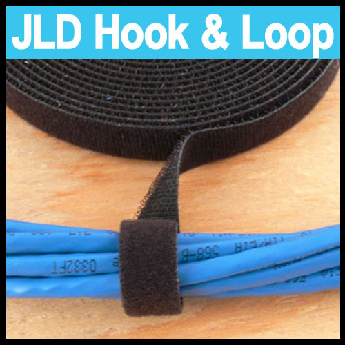 25mm wide Hook and Loop Back to Back Velcro Strap Reusable ... Velcro Wire Harness Cover on