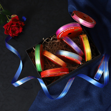 1.5 cm long ribbons DIY manual folding fengling spent material 10 m birthday balloon decoration tie bands