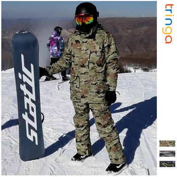 Ski Suit Men Winter New Outdoor Windproof Waterproof Thermal Male Snow Pants Sets Skiing And Snowboarding Ski Jacket Men Brands trvlwego outdoor ski suit men s windproof waterproof thermal snowboard snow skiing jacket and pants sets winter sports clothes