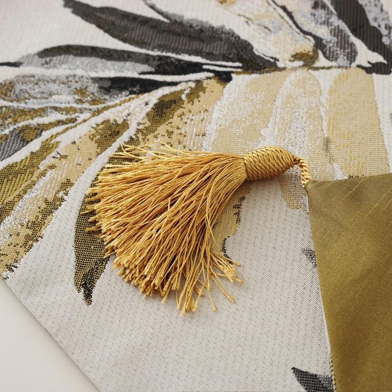 Junwell Fashion Moderne Tischläufer Bunte Nylon Jacquard Läufer - Haustextilien - Foto 3