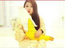stuffed animal cute yellow banana plush toy 130cm doll Cushion throw pillow about 51 inch toy p0169