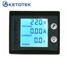 AC 80 260V 0 00 100A 0 00 10 0A AC font b Voltmeter b font