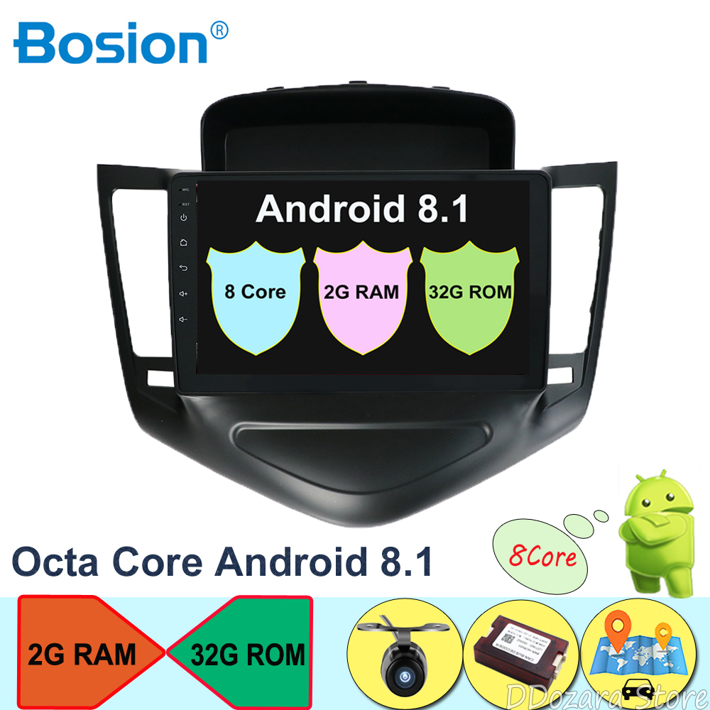 32G Octa Cores Car Radio Multimedia Video Player Navigation GPS Android For Chevrolet CRUZE no dvd 2 din Android 8.132G Octa Cores Car Radio Multimedia Video Player Navigation GPS Android For Chevrolet CRUZE no dvd 2 din Android 8.1