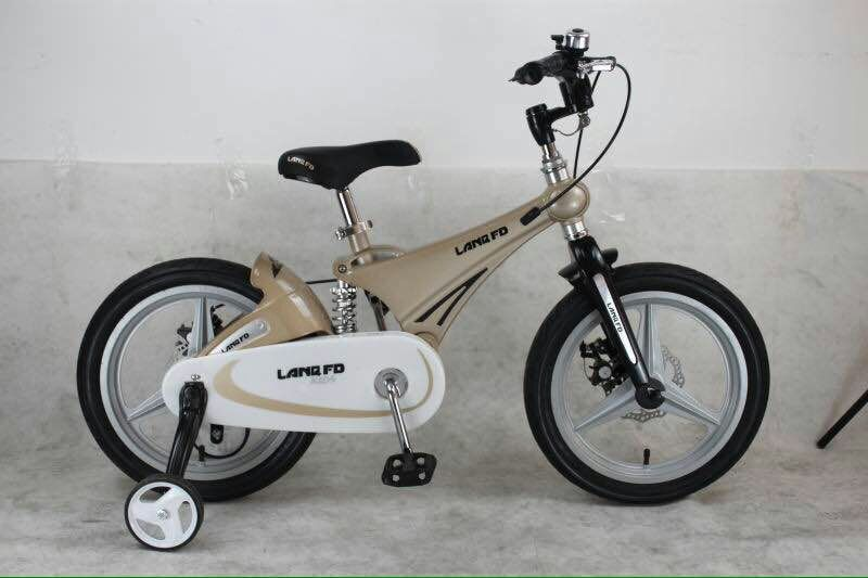 16 pulgadas LAN Q Los Niños bicicletas de suspensión de aleación de Magnesio bic