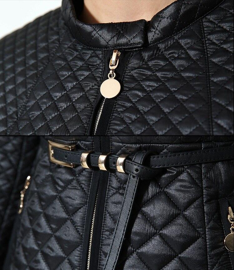 Ouatinée Femmes Color Automne Mince hiver 2017 2 color doudoune Femme Coton Manteau 1 Veste w4qpxnp