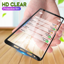 Para Samsung Galaxy A7 2018 A8 A6 más A5 2017 Protector de pantalla de vidrio templado para Samsung J8 J6 J4 Plus 2018 J7 J5 película de 2016