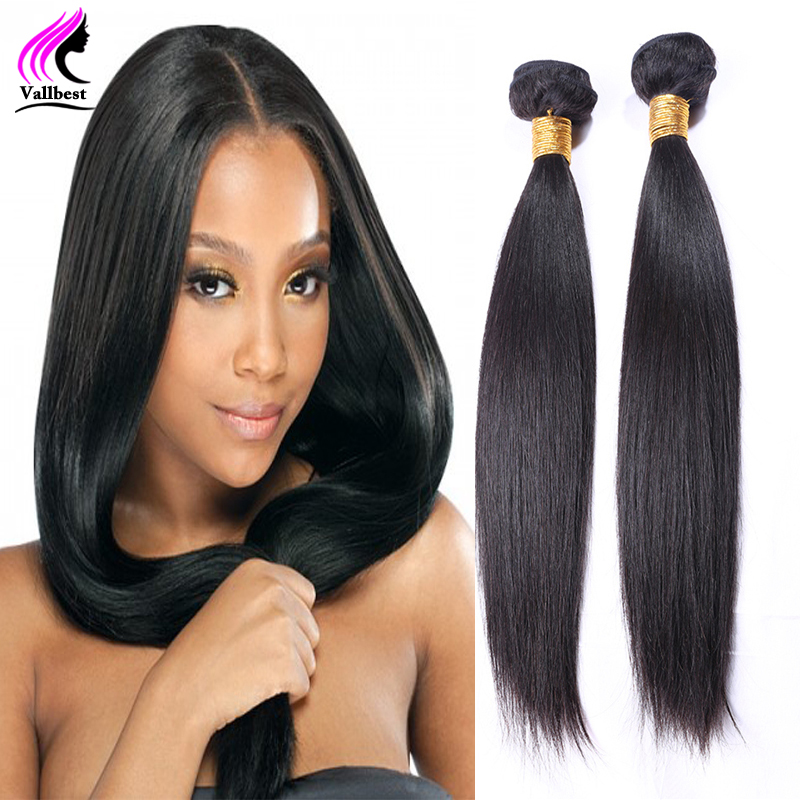 Straight Peruvian Virgin Hair Straight Weave Peruvian Hair 2 Bundles Straight Hair Human Hair Extensions 7A Unprocessed Virgin