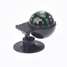 1 шт. вращающийся на 360 градусов Водонепроницаемый автомобильный навигационный шарообразный автомобильный компас с присоской 55x30x30 мм