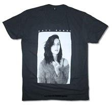 Men T shirt Katy Perry B W Photo Portrait Black T Shirt funny t-shirt  novelty tshirt women 1de821856002