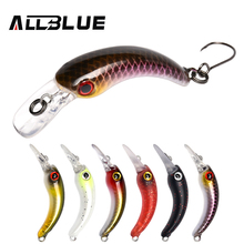 ALLBLUE 1.2g 29mm Trout Mini Crankbait RICE Wobbler Fishing Lure Freshwater Minnow Crank Synthetic Laborious Bait Fishing Deal with