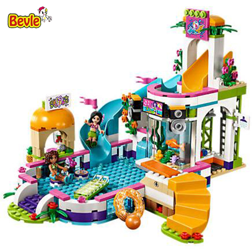 2017 New LEPIN 01013 Friend Series Heartlake Summer Pool Andrea and Martina Building Block Toys Compatible LEPIN Friend 41313
