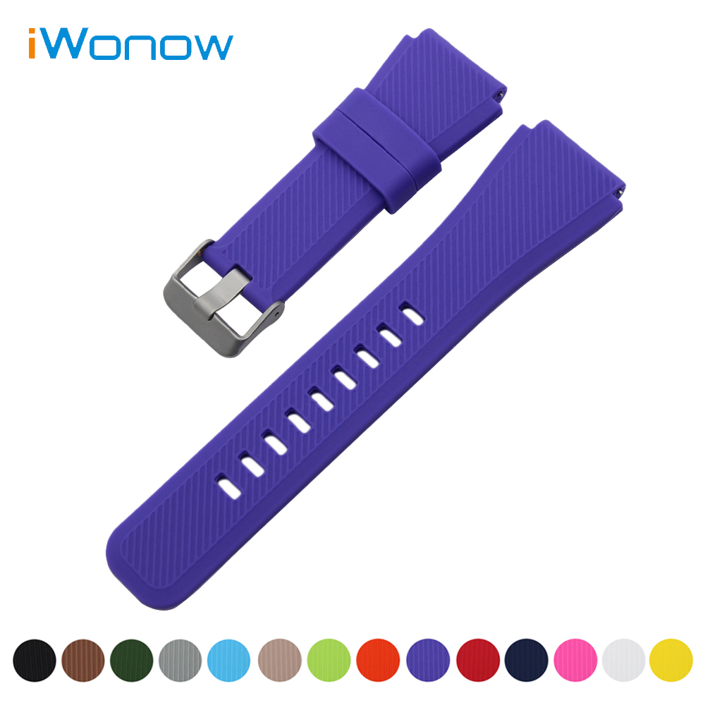 Silicone Rubber Watch Band 21mm 22mm for Tudor Quick Release Strap Stainless Steel Buckle Wrist Belt Bracelet + Spring Bar survival bracelet hand ring strap weave paracord buckle emergency quick release for outdoors