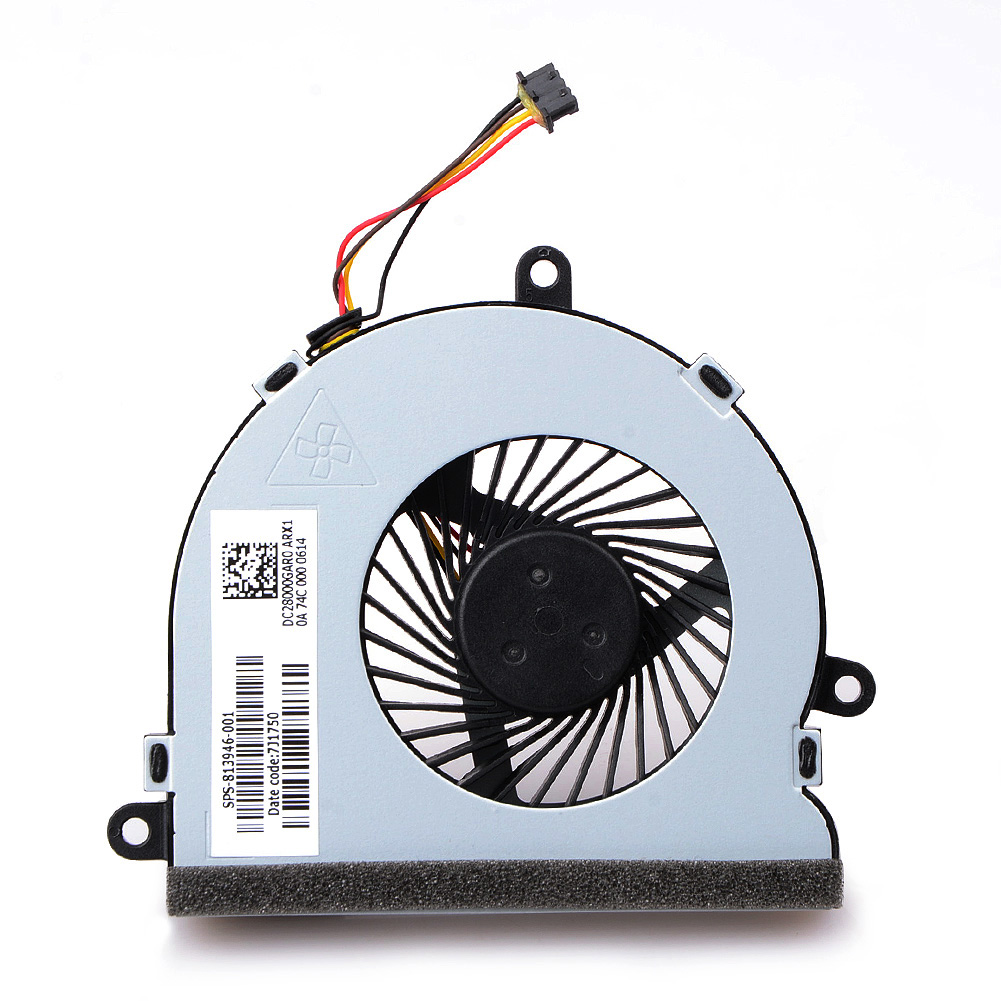 1pcs 4 Pin Notebook Computer Cooler Fans Laptops Replacement Accessories For  HP 15 AC Notebook Cooling Fans-in Fans & Cooling from Computer & Office