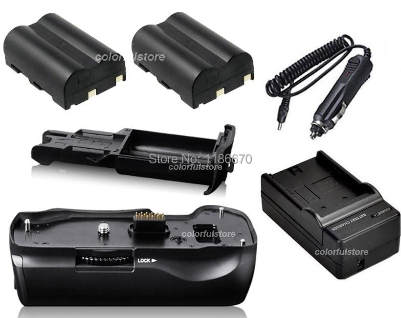 Battery Hand Handle Grip Holder Vertical Shutter For Pentax K10 K20 K10D K20D SLR Camera as D-BG2 DBG2 +2 x D-LI50 + Car Charger профессиональная цифровая slr камера pentax k 50 k50 dal18 55wr