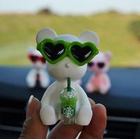 car air outlet Car Air Freshener Puppy In the Car Air Conditioning Outlet Perfume Clip Aromather Fragrance Diffuser Auto Accessorie Car Perfume (5)