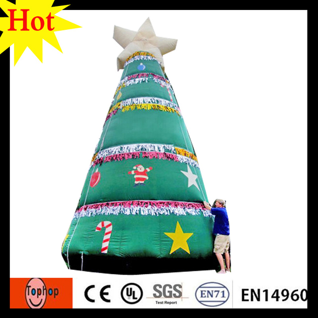 6m 20ft giant inflatable christmas tree decor gift 420d oxford in