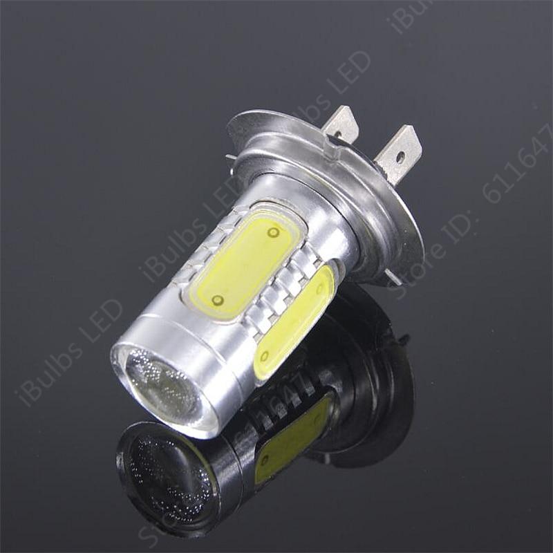 1Pcs Wholesale H7 led High Power 5LED Fog Tail Driving Car Light Bulb Lamp DC 12V H7 parking car light source