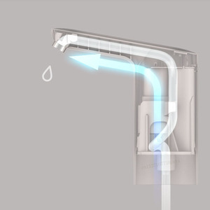 Image 4 - يوبين 3 لايف التلقائي USB اللمس التبديل مضخة مياه لاسلكية قابلة للشحن الكهربائية موزع مضخة مياه مع كابل يو اس بي