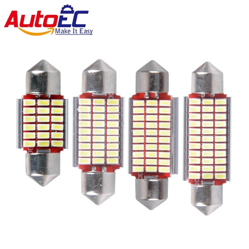 AutoEC C5w 3014 LED Canbus Error Pulsuz Şənbə günbəzi 31/36/39 / - Avtomobil işıqları - Fotoqrafiya 1