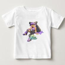 Children wakfu cartoon Design Tops  t shirt Boys and Girls Game Casual T Shirt Kids T-Shirt baby O-Neck summer cute tee 3T-8T  N цена и фото