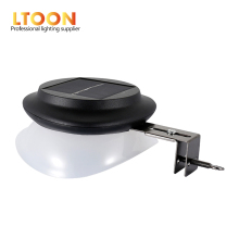 [LTOON]9pcs LED UFO Solar Street Lights Home Outdoor Lighting Garden Fence Bar