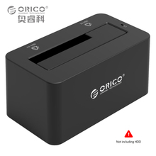ORICO USB3.0 & eSATA to SATA External 2.5 3.5 inch 5Gbps Hard Drive Disk HDD Docking station for HDD SSD 8TB 12V2A Power Adapter